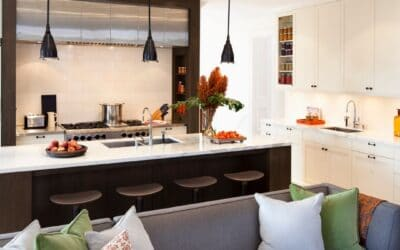 OPEN AND INTEGRATED KITCHENS IN THE LIVING-DINING ROOM
